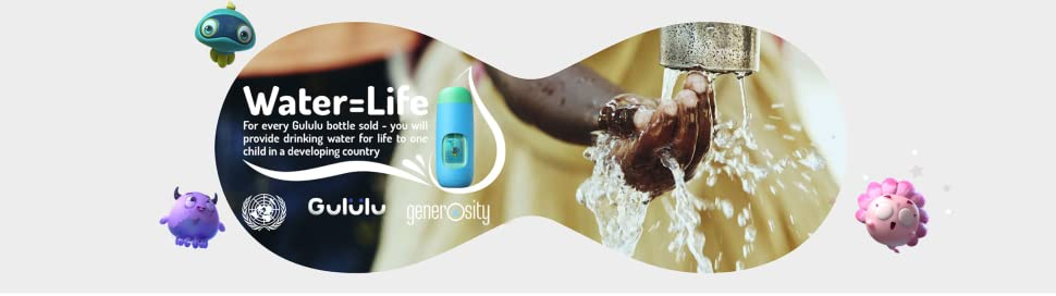 Gululu Talk The Interactive Smart Water Bottle & Health Tracker for Kids 40
