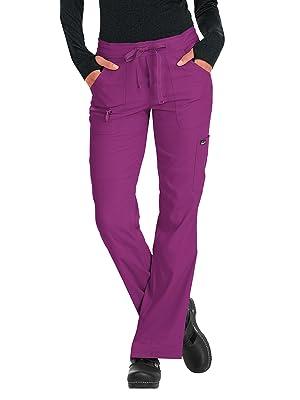 model wearing koi Lite 721 Women's Peace Scrub Pant