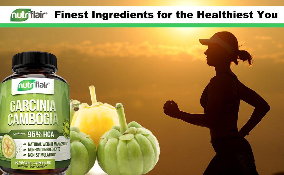 ▶ Pure 95% HCA Garcinia Cambogia Extract Weight Loss Diet Pills & Fat Burner