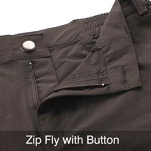 Nonwe Women's Outdoor Water-Resistant Quick Drying Lightweight Cargo Pants 13