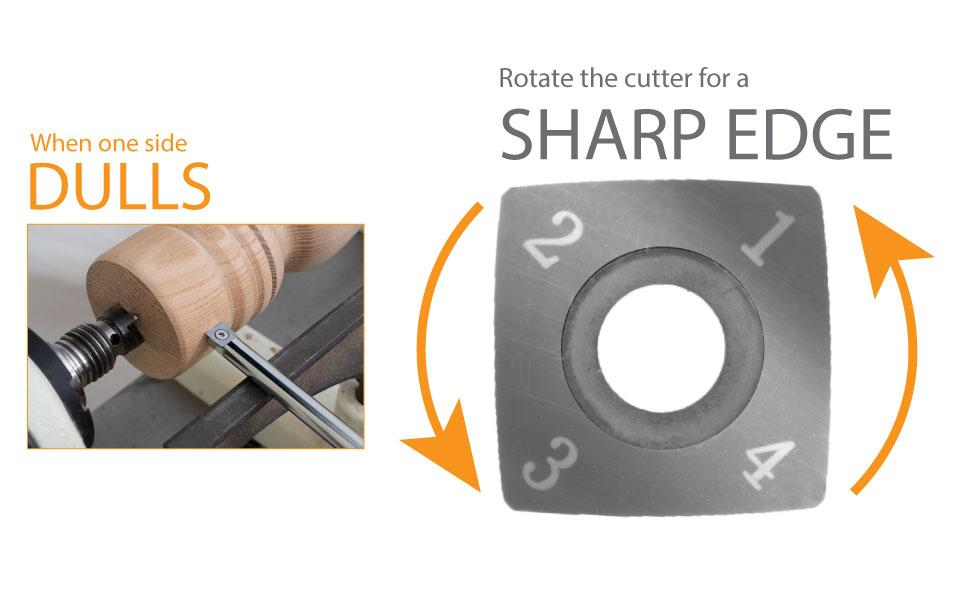 mini carbide rotate cutter no sharpening