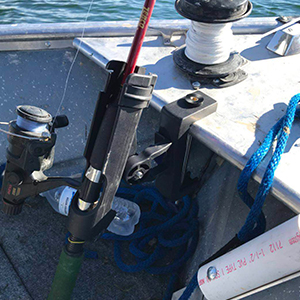 Coolnice fishing rod holder can be a fishing rod stock