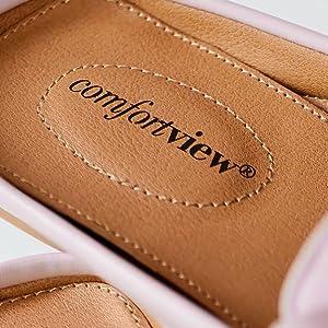 comfortview logo footbed