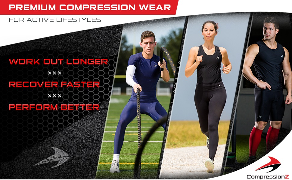 compressionz activewear pants leggings tights men