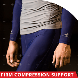 firm compression pants running