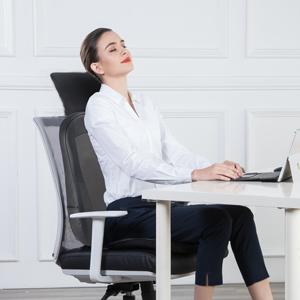 Shiatsu back massager for chair