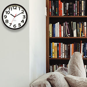 wall clock for library
