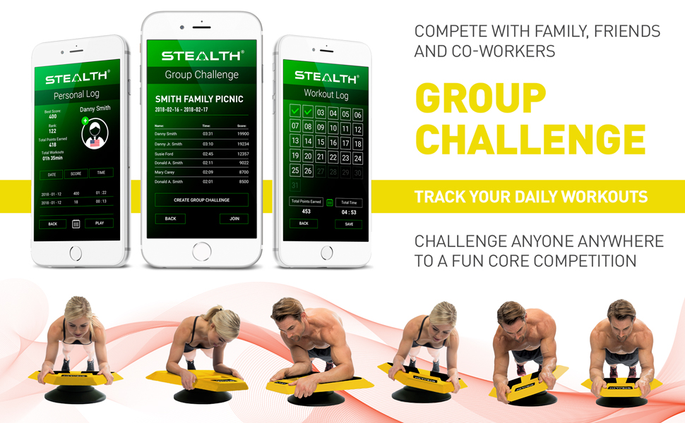 Workout and Compete Core Training Fun