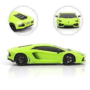 Replica of a Lamborghini
