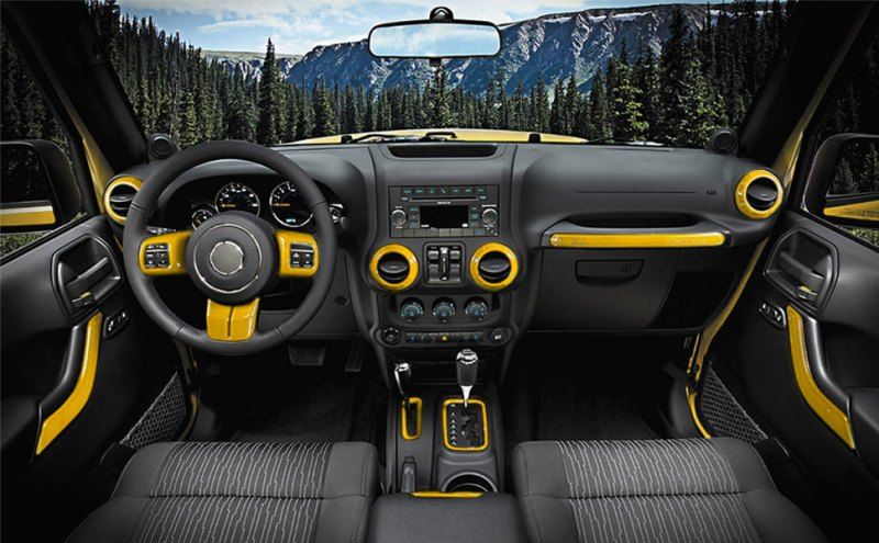 Looking For Good Interior Decoration Your Jeep Wrangler E Cowlboy 18 Pcs Full Set Trim Kit Is Just What You Need
