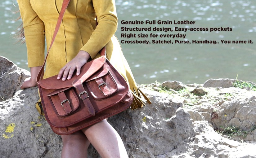 women leather bag handbag purse satchel