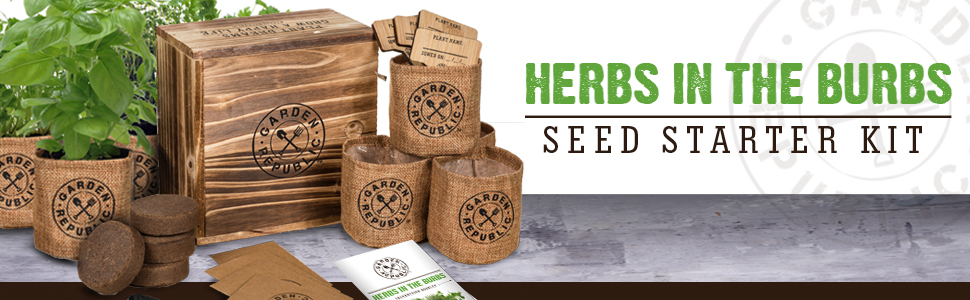 Herbs in the Burbs seed kit
