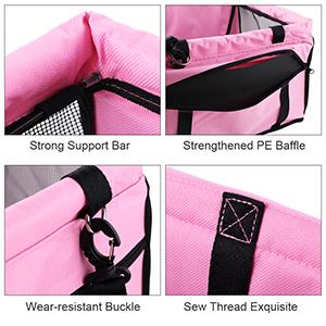 Petbobi dog car seat detail