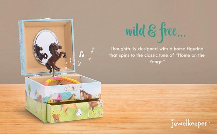 musical jewelry box, music box, girls jewelry box, unicorn, horse, ballerina, mermaid, princess