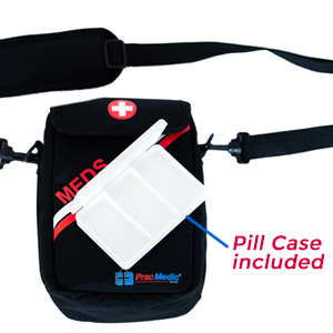 PracMedic T-MEDS Bags- Pill Case is included