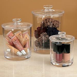 beauty apothecary jars