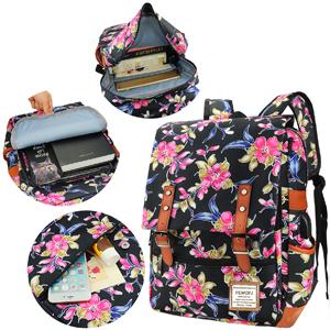 Floral Backpack