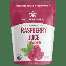 nature restore organic raspberry juice powder