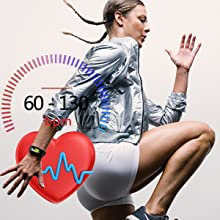 morepro fitness tracke with heart rate monitor