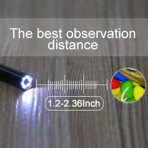Wireless Endoscope, Depstech WiFi Borescope Inspection Camera 2 0
