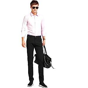 black dress pants for men