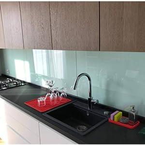 silicone sponge holder tray spoon rest caddy sink organizer soap disperser scrubber brush dishwash