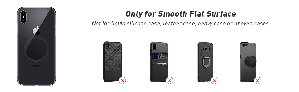 Only for Smooth Flat Surface