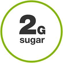 2 grams sugar