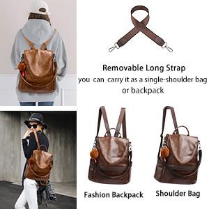 3-ways backpack