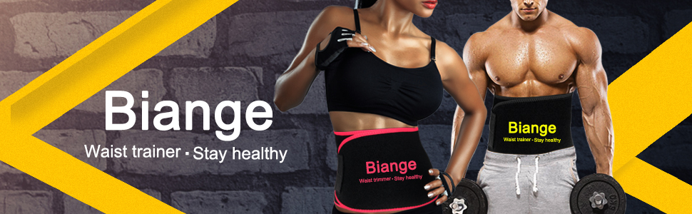 Biange Waist Trimmer for Women & Men Sweat Waist Trainer Slimming Belt, Stomach Wraps for Weight Loss, Neoprene Ab Belt Low Back and Lumbar Support 13