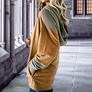 brown women sweatshirts