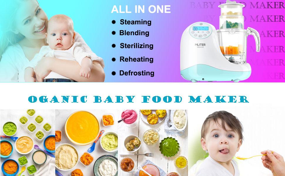 fabricante de comida de bebê