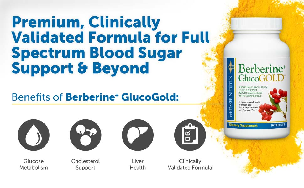 Premium, Clinically Validated Formula for Full Spectrum Blood Sugar Support & Beyond