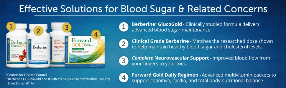 Effective Solutions for Blood Sugar & Related Concerns
