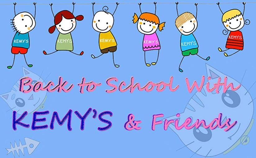 kemy's school bag backpack set