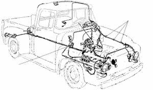 195356 Ford F100 Wiring Harness
