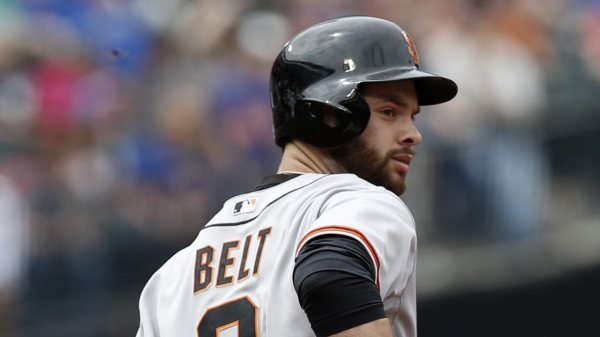 Brandon Belt to face Giants pitching prospects in ...