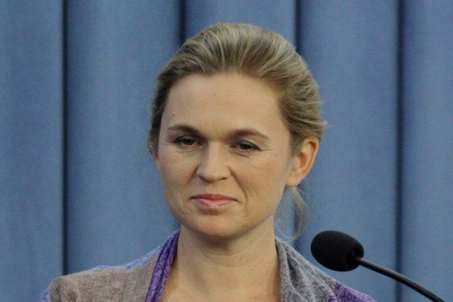 Barbara Nowacka kandydowała z ramienia Twojego Ruchu do Parlamentu Europejskiego.