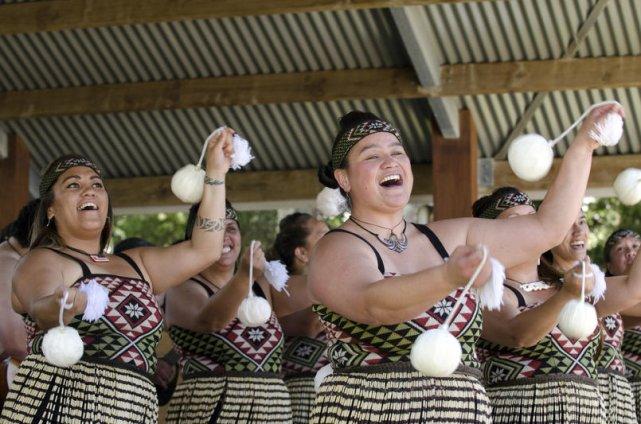 Rdzenni mieszkańcy Nowej Zelandii - Maorysi.