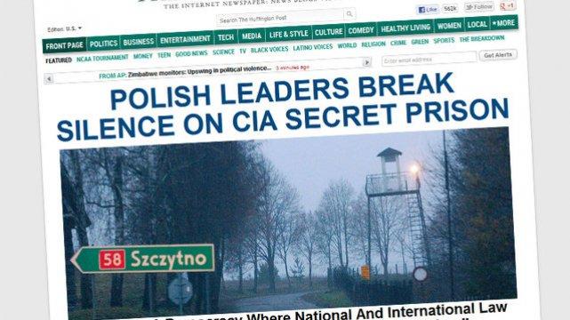 Więzienia CIA w Polsce i innych krajach stały się międzynarodową aferą