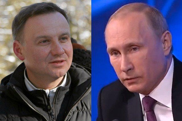 Andrzej Duda miał problem z pytaniem o telefon do Władimira Putina