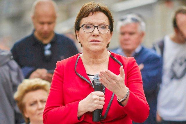 Ewa Kopacz jest zdegustowana spotem PiS