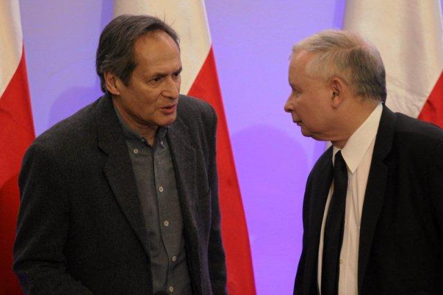 Jerzy Zelnik na trwałe związał sięz politykami PiS na czele z Jarosławem Kaczyńskim