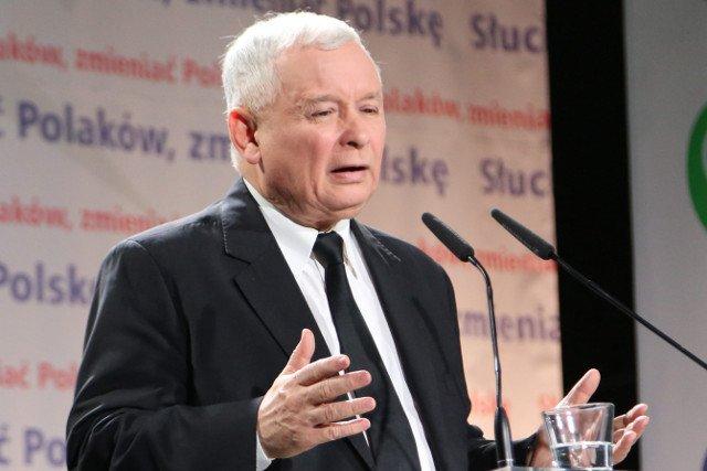 """Jarosław Kaczyński powiedział, że """"zbliża się zmiana pokoleniowa"""""""