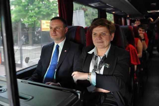 Zaraz po zaprzysiężeniu Andrzej Duda rozpoczyna podróż po Polsce, aby podziękować mieszkańcom za zaufanie i oddanie na niego głosu w wyborach.