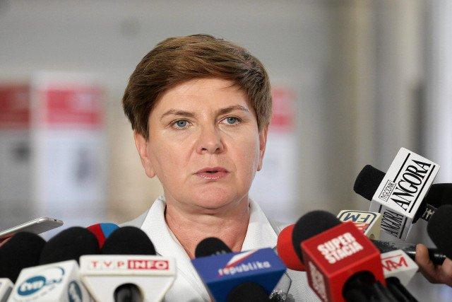 Beata Szydło niedawno grała pierwsze skrzypce