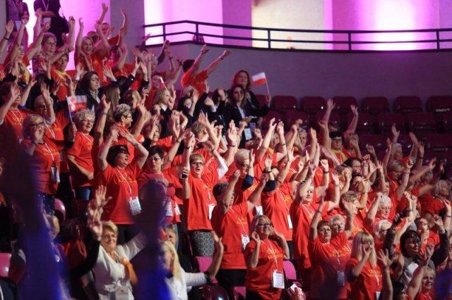 Na Kongresie Kobiet były panie z całej Polski, także ze wsi.