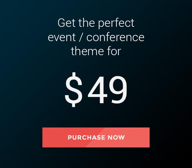 Eventerra - Event Conference WordPress Theme