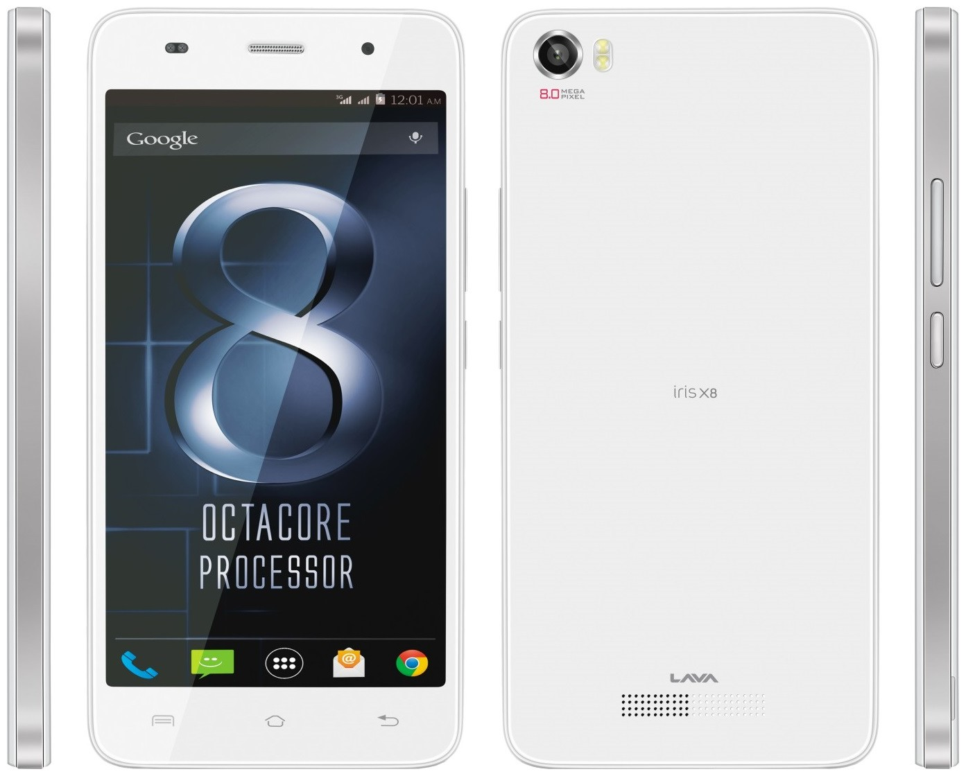 Lava Iris X8 8GB 1GB RAM Specs And Price Phonegg