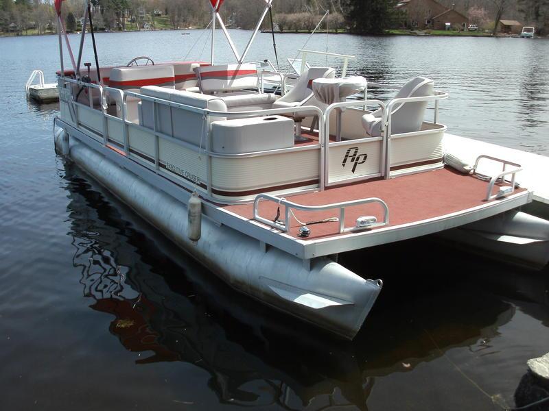 1988 godfrey 24 aqua patio powerboat